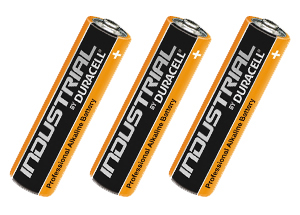 Duracell Industrial AA Batteries